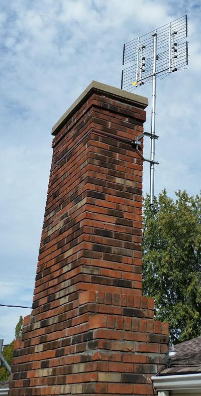 """Chimney mount - 14"""""""